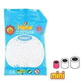 Hama Beads Mini Blanco (n°01) x2000