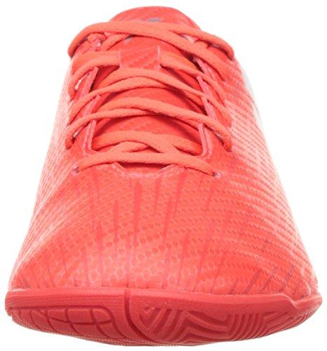 adidas X 16.4 In, Entraînement de football homme Rouge (Solar Red/Silver Metallic/Hi-Reset Red)