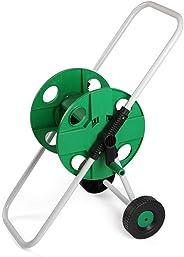 45m 4 Points Garden Hose Cart, Portable Garden Water Pipe Hose Reel Cart,Garden Watering Hose Storage Rack For Garden Farm