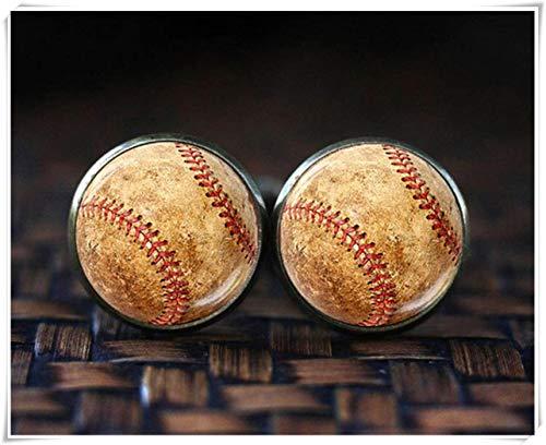 Baseball Manschettenknöpfe, Sport Manschettenknöpfe, Herren Manschettenknöpfe, Baseball Spieler, Baseball Geschenk, Baseball Fan Geschenk