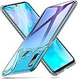ESR Hülle kompatibel mit Huawei P30 Lite - Weiche Flexible Silikon Handyhülle -Essential Zero TPU Transparente Schutzhülle mit Kameraschutz und Mikrodot Muster- Klar