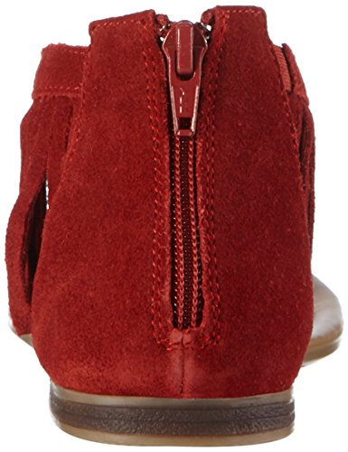 s.Oliver 28140, Tongs femme Rouge - Rot (RUBY 505)