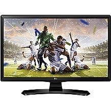 """LG 22MT49DFPZ - TV/Monitor de 24"""" (LED IPS HD Ready, 1366 x 768 pixels, 5 ms, brillo 250, estabilizador de negros, DAS) negro"""
