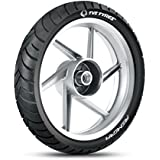 TVS Tyres ATT 455R 130/70-17 62P Tubeless Bike Tyre, Rear