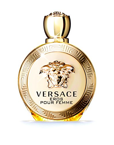 Versace Eros pour Femme, Eau de Parfum, Vaporisateur/Spray 100 ml, 1er Pack (1 x 0.318 kg) (Damen Uhr Versace)