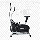 Reach O-100 Orbitrek Exercise Cycle and Cross Trainer | Dual Trainer 2 in