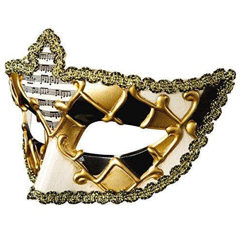 (Xhb Halloween-Maske Masquerade Halb-Gesicht Party Männer Und Frauen Venedig Festival Requisiten,Black)