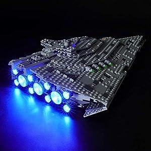 BRIKSMAX Kit di Illuminazione a LED per Lego Star Wars First Order Star Destroyer,Compatibile con Il Modello Lego 75190… 0716852282302 LEGO