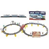 Jugueteriaonline 9503008900507 - Tren alta velocidad con vías 88 pzas