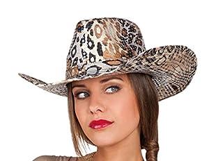 Boland 01329 - sombrero de Adultos Cheetah, un tamaño, Multicolor