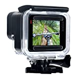 Wealpe Waterproof Dive Housing Underwater Protective Housing Case Compatible with GoPro Hero 7 Black, 6, 5, Hero (2018) Cameras