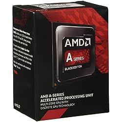 AMD FM2+ A6-7400K Processore 3,5GHz Box, Nero