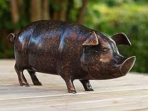 Schwein, Bronzeguss