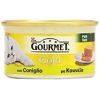 Gourmet - Pat㨠Con Coniglio, Alimento Completo Per Gati Adulti - 85 G