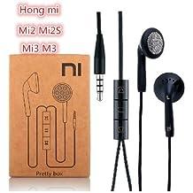 Prevoa ® 丨Auricular / auricular para Xiaomi Miui Hongmi (arroz rojo) Mi2 Mi2 Mi2s Mi3 Mi3 smartphone