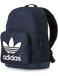adidas AC BPACK CLASS - Bolsa de deporte, color azul marino / blanco, talla NS