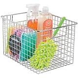 EverEx Stainless Steel Multipurpose Fridge Space Saver Food Storage Rack Organiser Holder Stand Basket Shelf/Shelves bin with