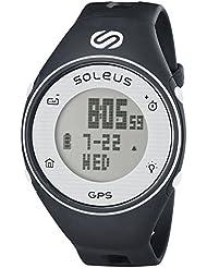 Soleus GPS One GPS-Laufuhr Sportuhr Aktivitätstracker mit Auto-Lap und Chronograph