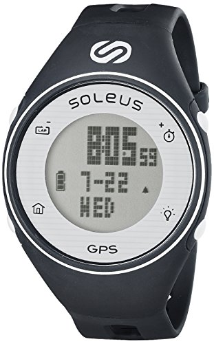 Soleus GPS One Running Watch - Navy/White
