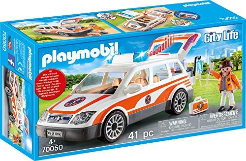 Playmobil 70050City Life Médico urgencias automóviles