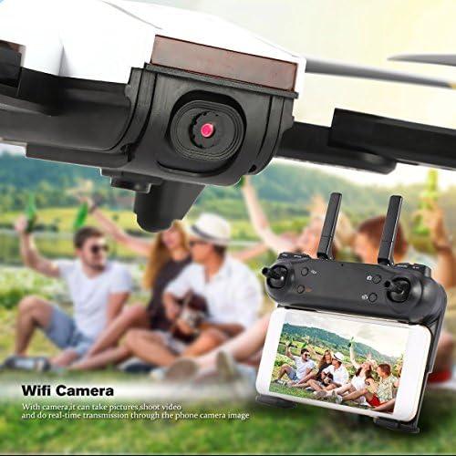 Gugutogo SG700 SG700 SG700 2.4G RC Drone Quadcopter Pliable avec caméra FPV Live Video Alititude Hold Mode sans tête One Key Retour 360 ° Flip Mode (Couleur: Blanc) fad724