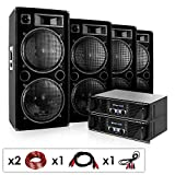 Elektronik Star Phuket Pulsar Pro • DJ PA Komplettset • 4 x auna PW-2222...