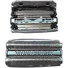 Xinvision Reemplazo Partes Maquinilla de afeitar Papel de aluminio para Braun 51S 530 530S-4 540 550 550S-4 560 560S-3 560S-4 570cc 570CC-3 570S-4 590cc 590CC-3 590CC-4