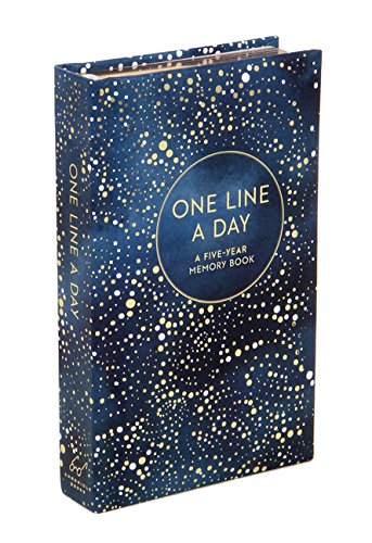 (One Line a Day (Celestial): A Five-Year Memory Journal (Journals))