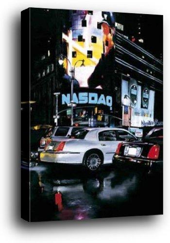 new-york-poster-kunstdruck-als-blockbild-nasdaq-susbielles-70-x-50cm