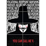 V FOR VENDETTA TYPOGRAPHY QUOTES GIANT WALL ART PRINT PICTURE POSTER PLAKAT DRUCK G1208