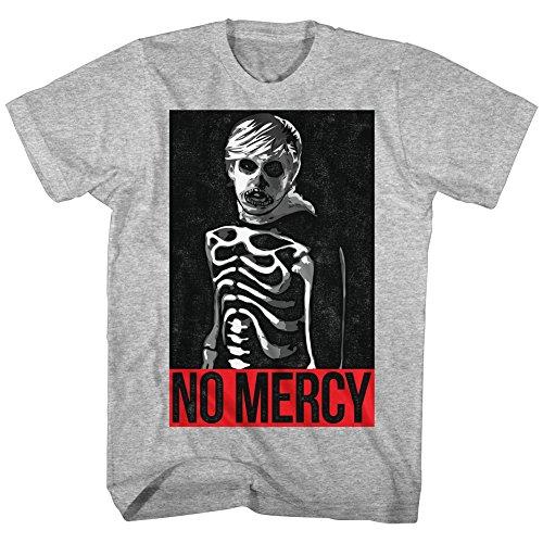 51hbPRde4HL - Camiseta no mercy para hombre