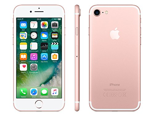 Apple Iphone 7 Smartphone (11,9 Cm (4,7 Zoll), 128gb Interner Speicher, Ios 10) Rose-gold