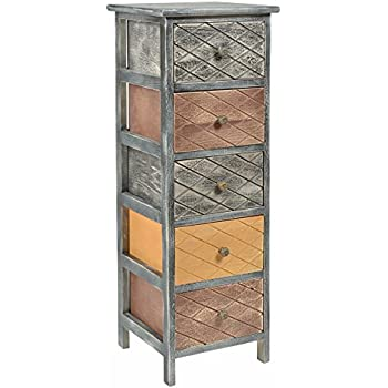 Ts ideen kommode schrank container industrie design shabby for Schrank container optik