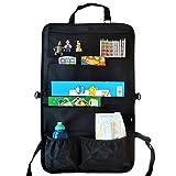 Organizer da sedile posteriore auto per bambini – Viaggia in sicurezza, più in silenzio e con l'auto più ordinata con il nostro portaoggetti multi-tasca con 7 tasche XL