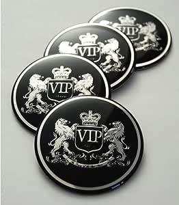 3d Emblem Vip V I P Style ZubehÖr Kia Sportage Bj 2010 2015 Felgen Alufelgen Radnabe Tuning Aufkleber Selbstklebend 3m Auto