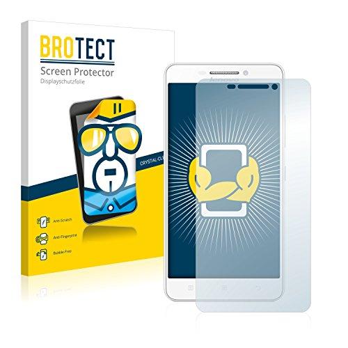 BROTECT Schutzfolie kompatibel mit Lenovo A5000 [2er Pack] klare Bildschirmschutz-Folie