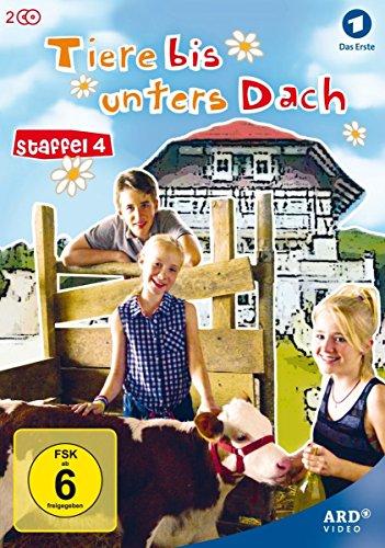 Tiere bis unters Dach - Staffel 4 [2 DVDs]