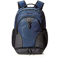AmazonBasics Sports Backpack, Navy Blue