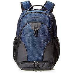 AmazonBasics - Mochila de deporte, Azul marino
