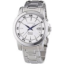 Seiko Herren-Armbanduhr XL Premier Perpetual Calendar Analog Quarz Edelstahl SNQ139P1