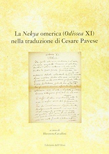 la-nekyia-omerica-odissea-xi-nella-traduzione-di-cesare-pavese-ediz-multilingue