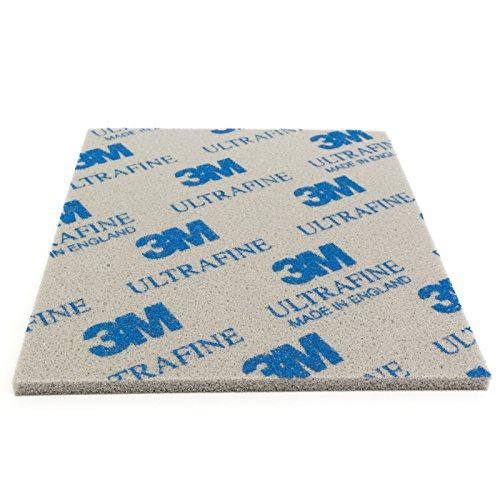 Preisvergleich Produktbild 3M Soft Pad Schleifpad Schleifschwamm 1 Stück 02601 ultrafine ultrafein P1000-P1200 Korn 1000