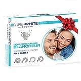 Superwhite Whitening Geschenk-Set für Zahnaufhellung - weißere Zähne