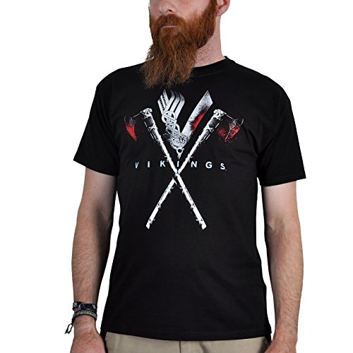 Vikings Axe To Grind T-Shirt nero XXL