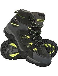 finest selection cbbf1 d098c Mountain Warehouse Rapid Stiefel für Kinder - Regenstiefel,Wanderschuhe,  Kinderschuhe mit Robuster Laufsohle, Wanderstiefel mit…