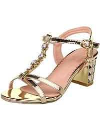 Suchergebnis Auf Amazon De Fur Schuhe 6cm Absatz Sandalen Damen