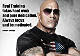 MOTIVATIONAL-DWAYNE JOHNSON 10-Real