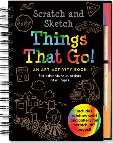 Scratch & Sketch Things That Go: An Art Activity Book for Adventurous Artists of All Ages por Mara Conlon