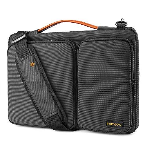 tomtoc Schultertasche Tasche kompatibel mit MacBook Pro Retina 15