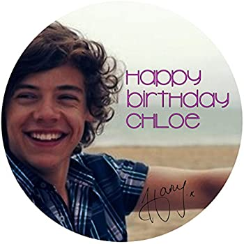 75 Harry Styles One Direction Edible Icing Birthday Cake Topper